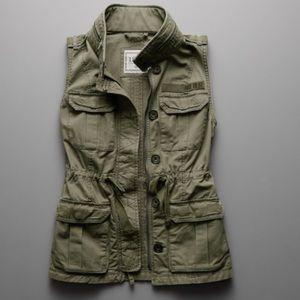 Abercrombie & Fitch Military Utility Vest Size XS